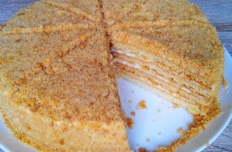 Медовий торт - рецепт приготування