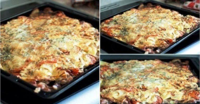 М'ясо під шубою - рецепт приготування