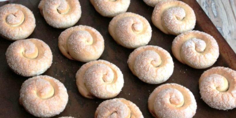 Печиво «Цукрові равлики» - рецепт приготування