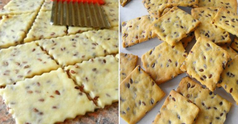 Печиво з насінням льону - рецепт приготування