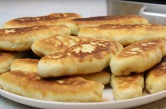 Швидкі пиріжки на сметані - рецепт приготування
