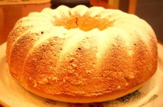 Смачний кекс на кефірі - рецепт приготування