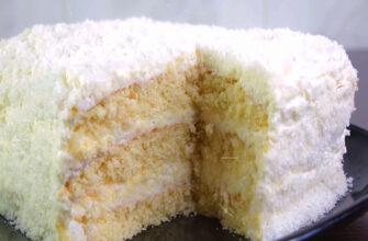 Смачний торт Рафаелло - рецепт приготування