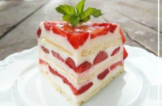 Десерт з полуниці - рецепт приготування
