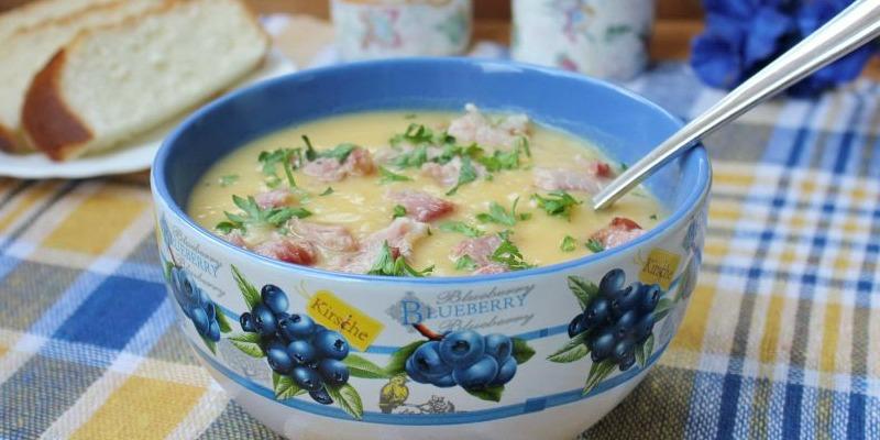 Гороховий суп-пюре - рецепт приготування