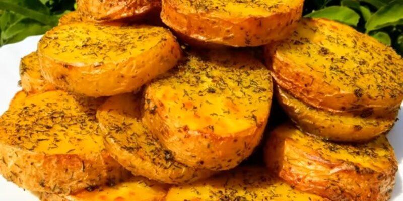 Картопля, запечена в духовці - рецепт приготування
