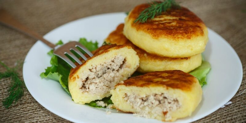 Картопляні зрази з м'ясом - відмінний рецепт