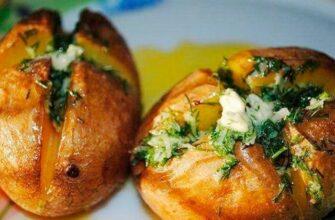 Пікантна картопля в мундирі - рецепт приготування