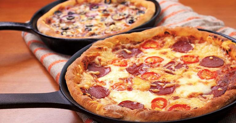 Піца на сковороді - рецепт приготування