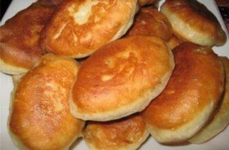 Пиріжки з картоплею, рецепт приготування