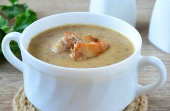Суп пюре з гречки - відмінний рецепт
