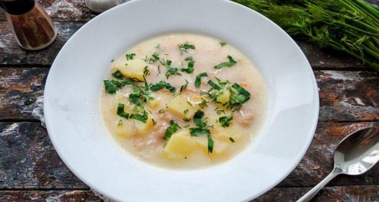 Суп з квасолею і сиром - відмінний рецепт