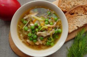 суп зі скумбрією на кожен день - рецепт приготування