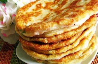 Сирні коржі на кефірі - рецепт приготування