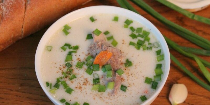 Сирний суп з індичкою - відмінний приготування