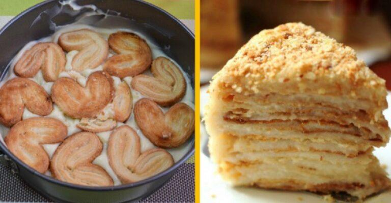 Торт Наполеон всього за 20 хвилин, рецепт приготування