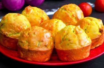 Ароматні кекси з кабачком - рецепт приготування