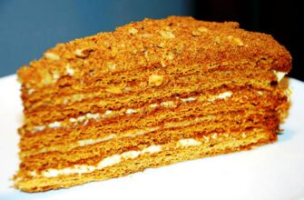 Бюджетний медовий торт - рецепт приготування