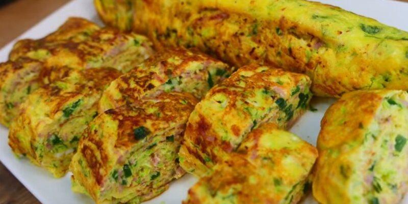 Яєчня з кабачками - рецепт приготування
