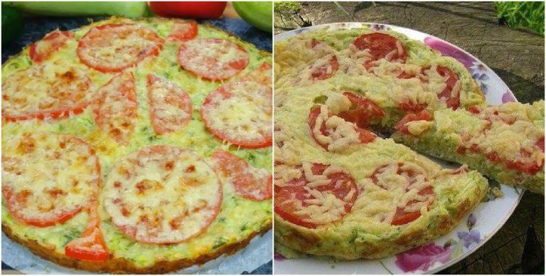 Кабачкова піца - рецепт приготування