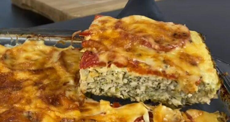 Кабачкова запіканка - рецепт