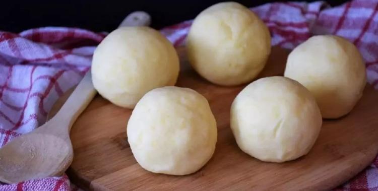 Картопляне тісто - рецепт приготування