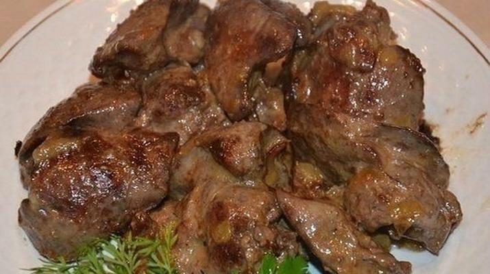 Ніжна яловича печінка - рецепт приготування