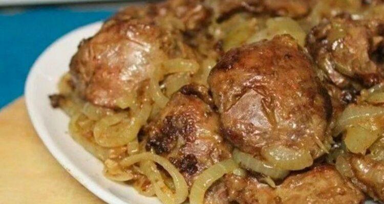 Ніжна смажена печінка за 3 хвилини - рецепт приготування