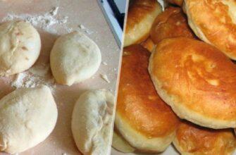 Пиріжки на кефірі - рецепт приготування