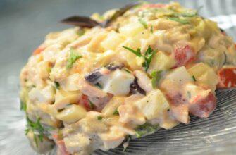 Салат з баклажанами - відмінний рецепт