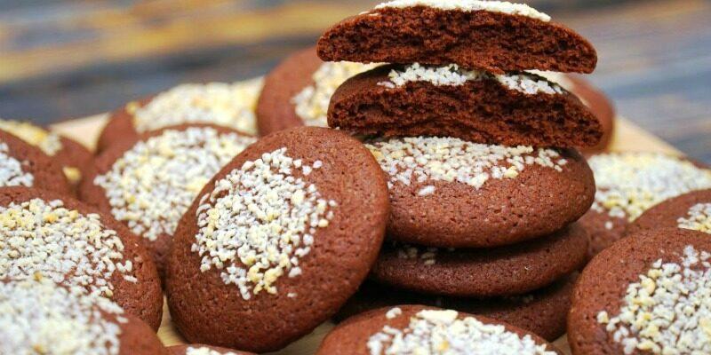 Шоколадне печиво - рецепт приготування