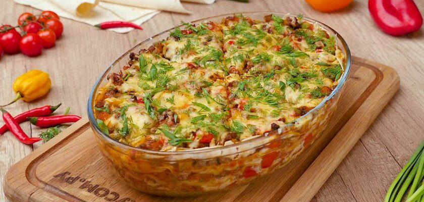 Швидкий обід з лаваша - рецепт приготування