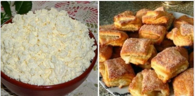 Сирне печиво- рецепт приготування