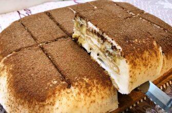 Торт Банановий рай - рецепт приготування
