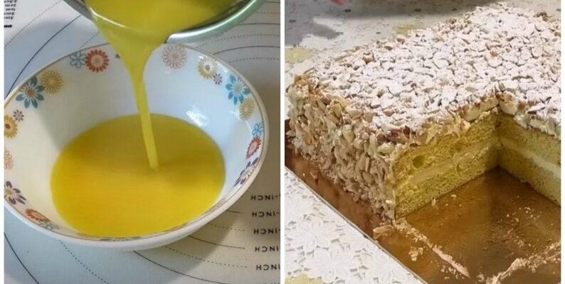 Торт «Подарунковий» - рецепт приготування