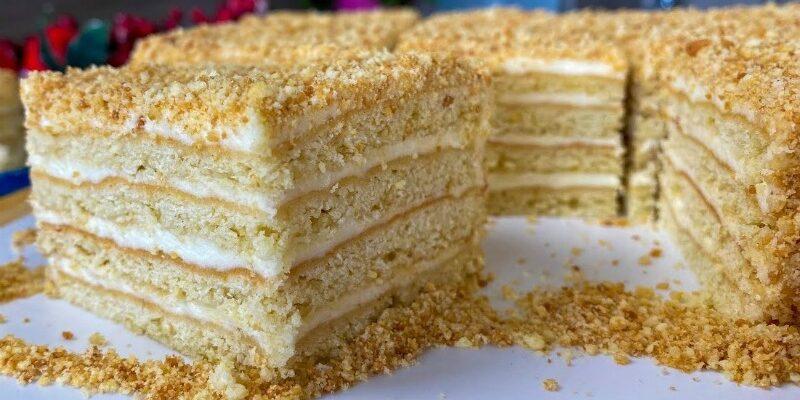 Торт «Сільський» - рецепт приготування