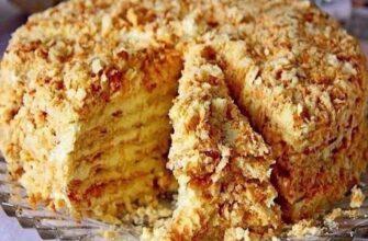 Торт без випічки «Світлана» - рецепт приготування
