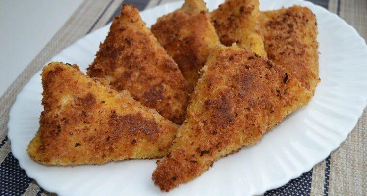 Трикутні пиріжки - рецепт приготування