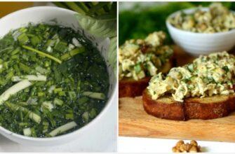 Дві закуски з кабачків і зеленої цибулі - рецепт