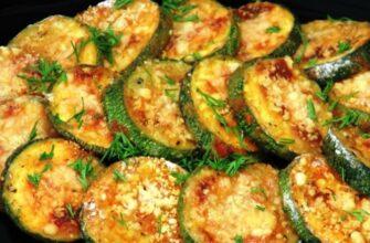 Хрусткі кабачки з сиром - рецепт приготування