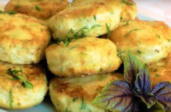 Курячі котлетки з кабачком - рецепт приготування
