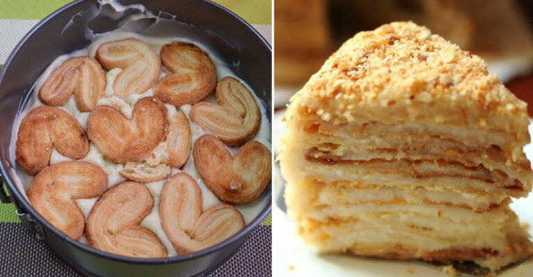 Лінивий Наполеон - рецепт приготування торта