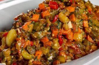 Рагу з баклажанами і помідорами - рецепт приготування