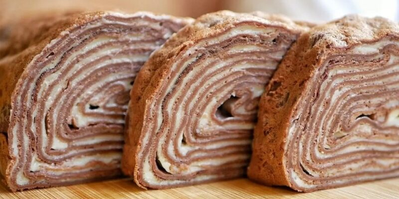 Шоколадний рулетик - рецепт приготування