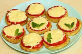 Закуска з кабачків, помідорів і сиру - рецепт приготування