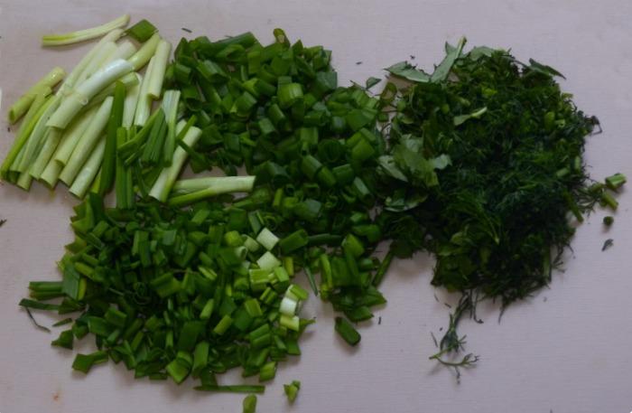 Швидкі закуски з кабачків і зеленої цибулі. З'їдаються на Ура