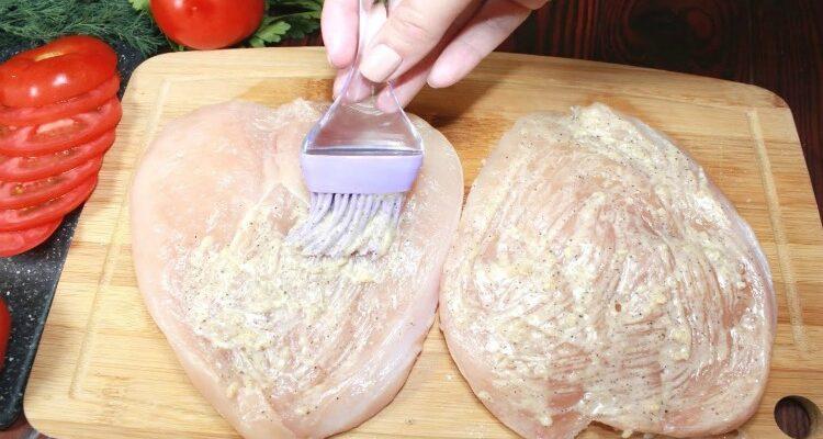 Запечена куряча грудка - рецепт
