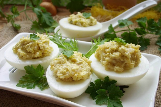 Начинки для фаршированих яєць