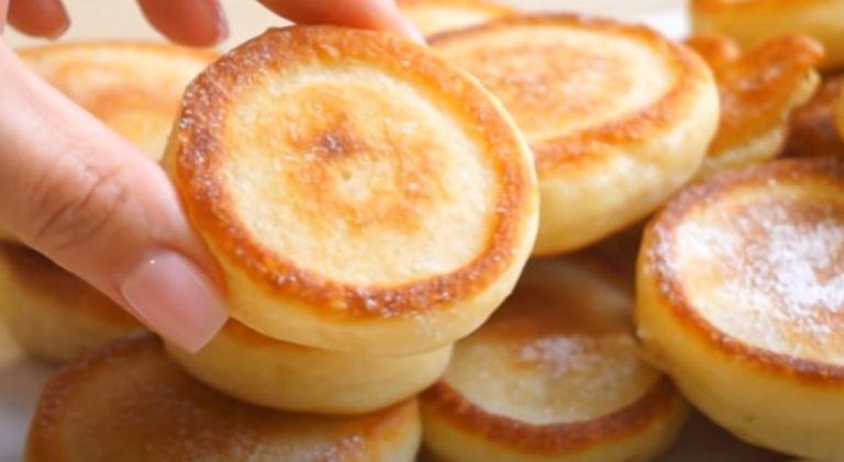 Оладки як пончики. Смачні і пишні: сніданок за 15 хвилин