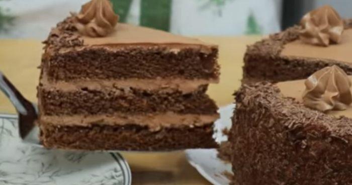 Шоколадний торт «Трюфельний»